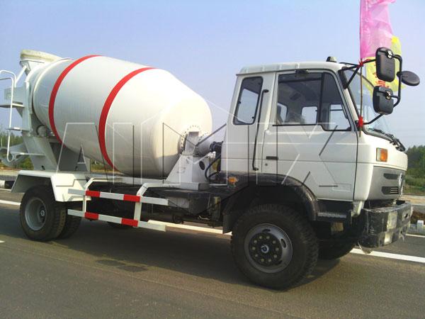 concrete mixer trailer