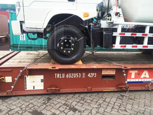 agitator truck
