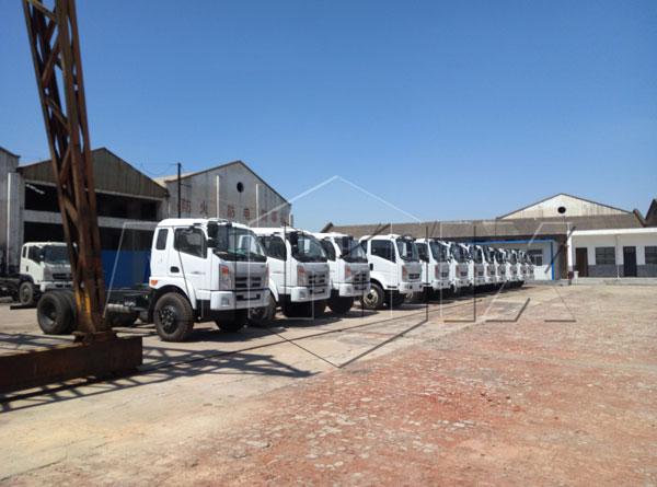 new concrete mixer trucks