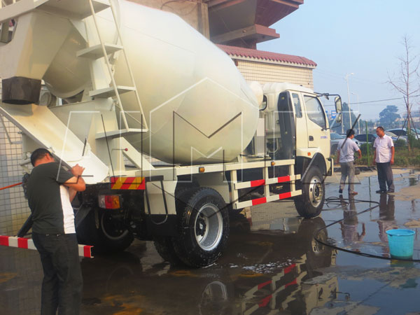new concrete mixer truck sale