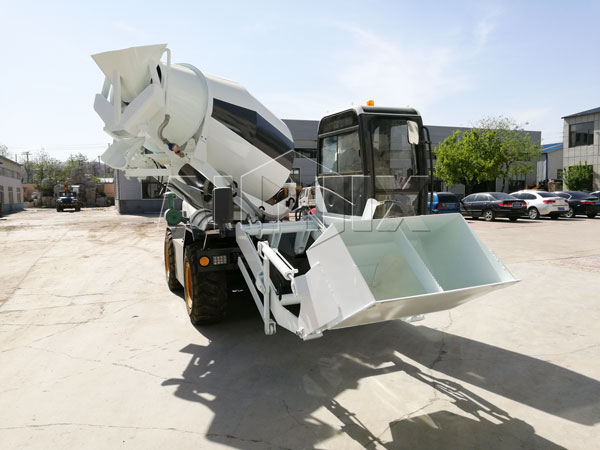 Self Mixing Concrete Truck can rotate 270 degrees