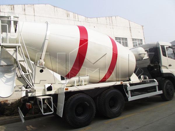 transit concrete mixer