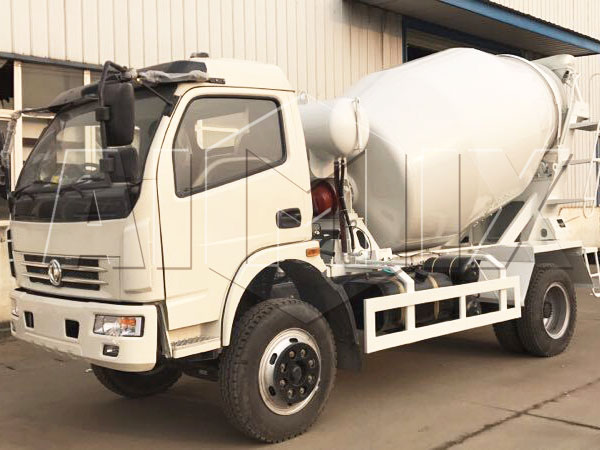 6m³ concrete mixing truck