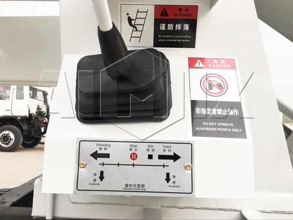 Operating handle