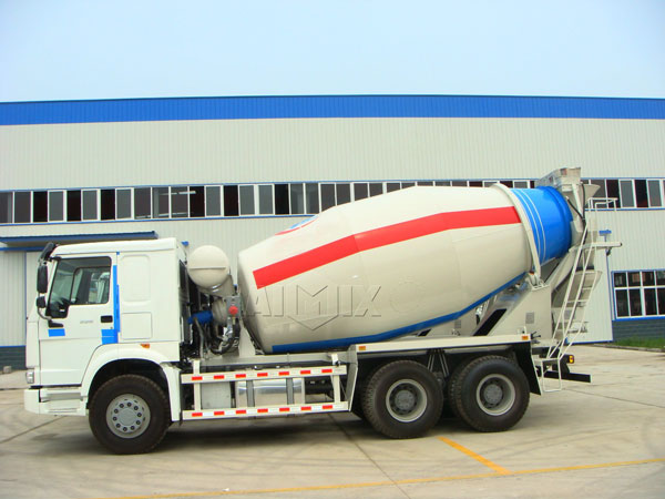 10m³ concrete agitator truck