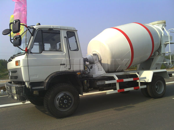 <strong>5m³ trailer concrete mixer</strong>