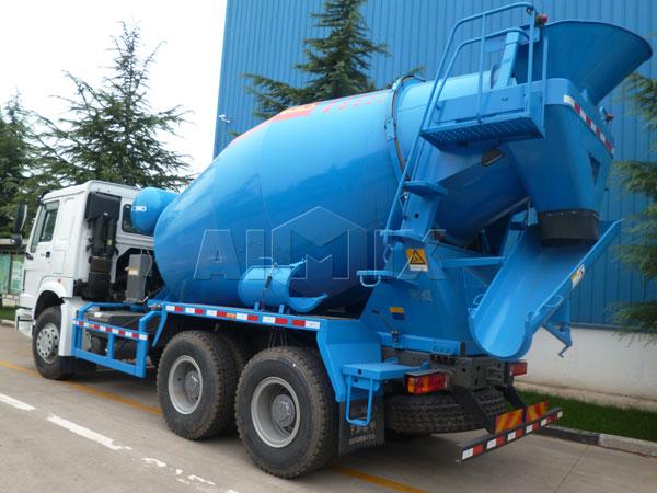 9m³ concrete mixer truck