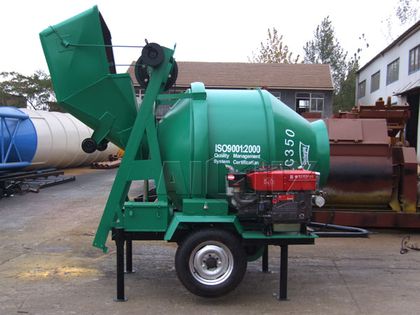 JZC350 concrete mixer drum