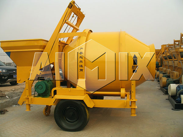 JZC500 concrete mixer drum