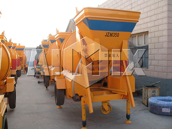 JZM350 concrete mixer drum