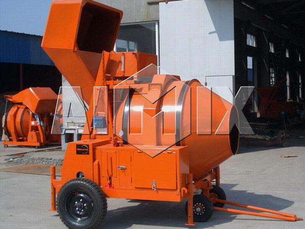 JZR350 diesel concrete mixer drum