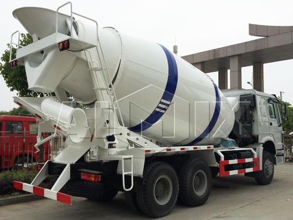new concrete truck