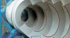 inner of cement drum