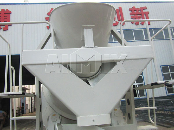 discharge system of mixer tank