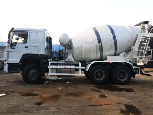 9m³ concrete mixing truck