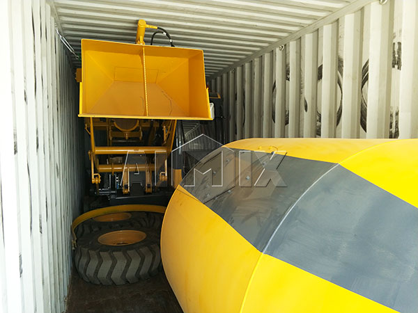 self mixer in container