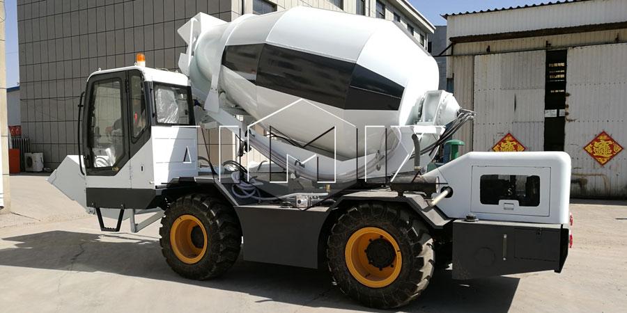 self loading concrete mixer truck for sale