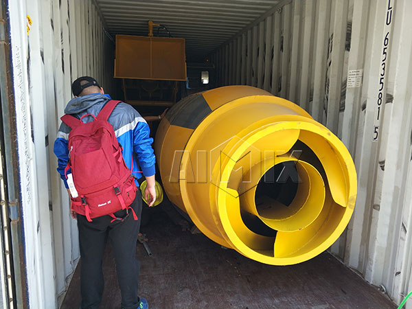 shipment of self mixer