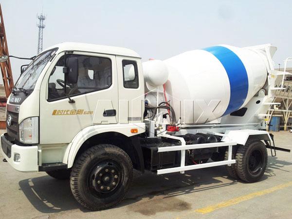 3m³ mixer truck