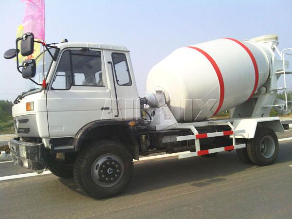 5m³ concrete truck
