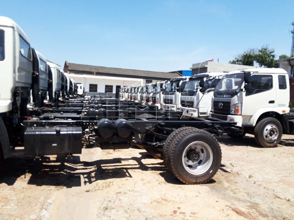 chassis for concrete truck