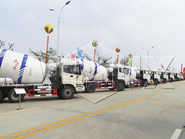 concrete mixer truck manufacturers-AIMIX GROUP