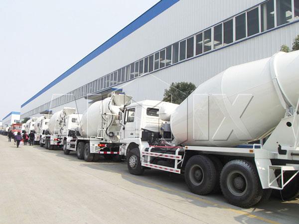 concrete truck manufacturers