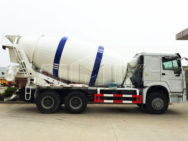 10m³ new concrete trucks