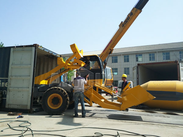 3.5m³ Self Loading -Concrete Mixer Truck