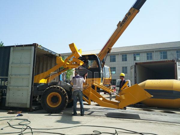 3.5m³ Self Loading -Concrete Mixer Truck