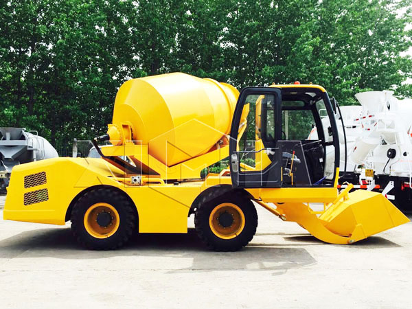1.2 cub self loading concrete mixer