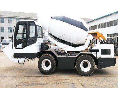2.5 cub self loader truck