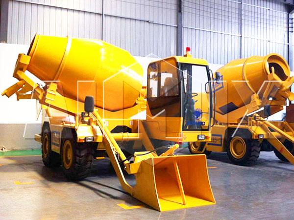 3.5 cub self loading concrete transit mixer