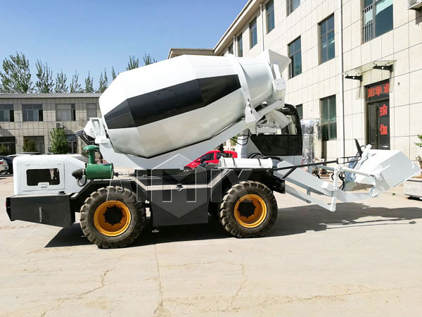 Mini Concrete Mixer Trucks For Sale - Convenient And Flexible