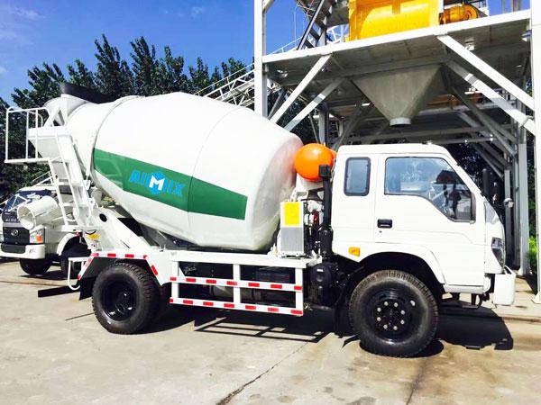 6cub concrete transit mixer
