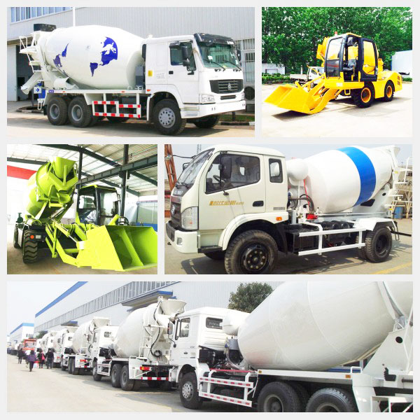 types of concrete truck