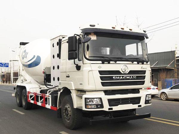 12m3 concrete mixer truck delivery