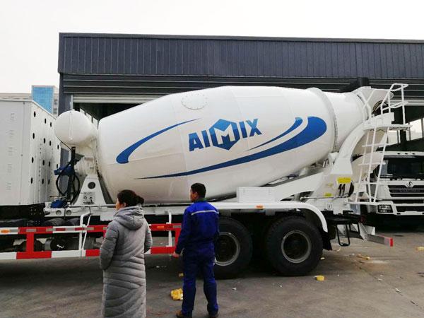 12m3 concrete mixer truck for sale
