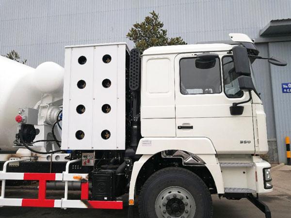 12m3 concrete mixing truck