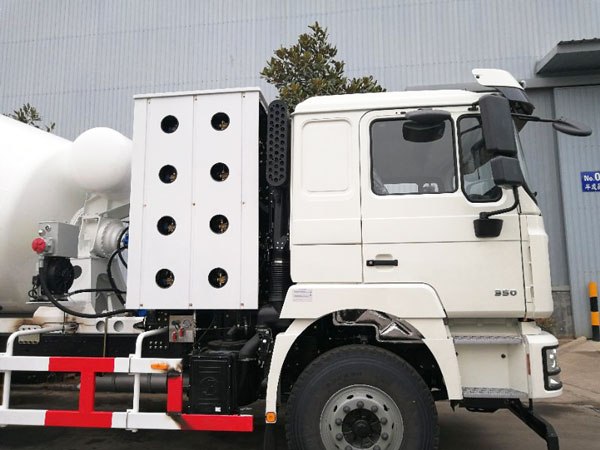 12m3 transit mixture truck